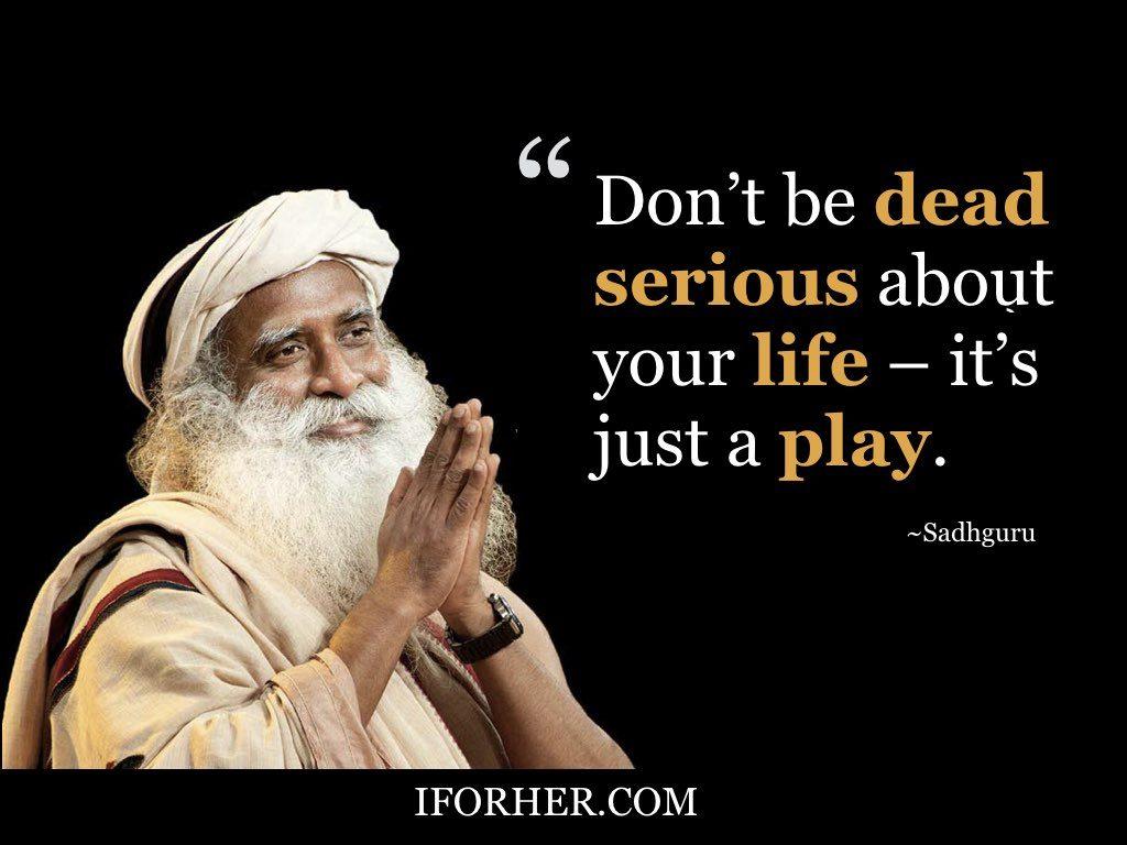 Inspiring Sadhguru Quotes On Peace Of Mind, Love & Self-Respect