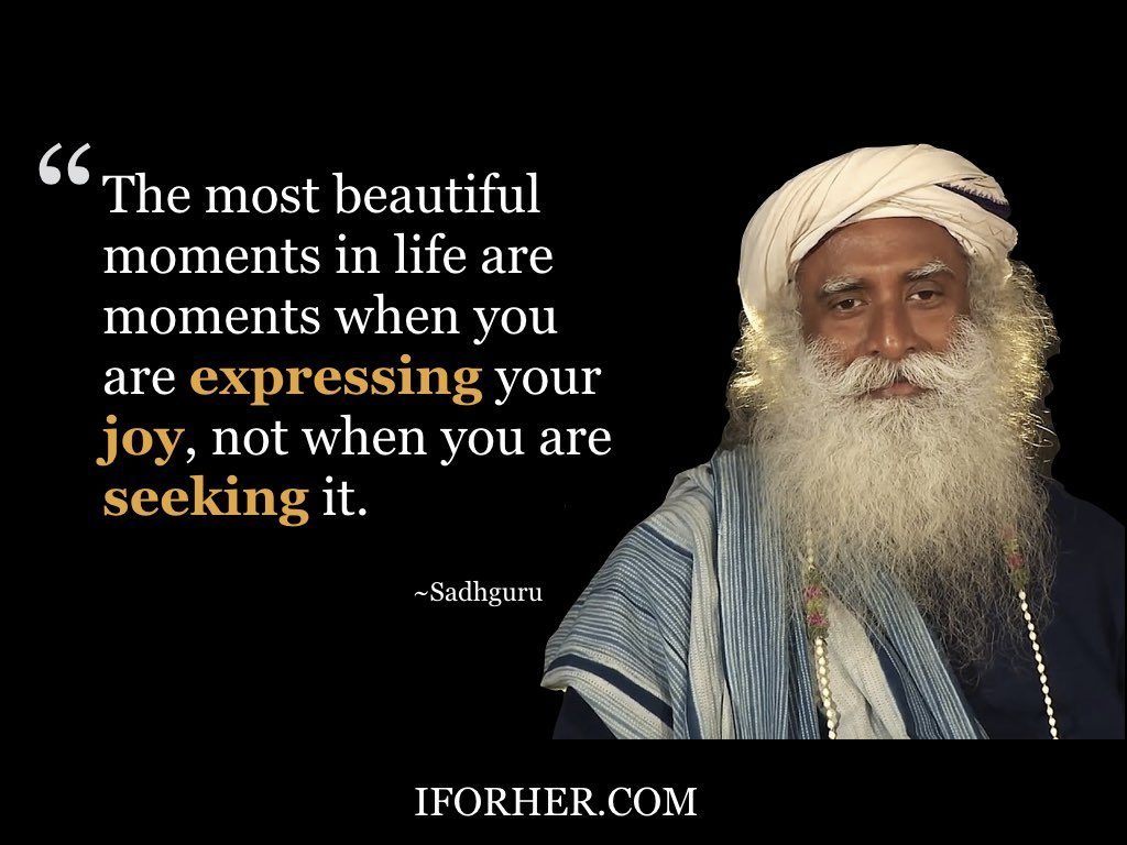 Inspiring Sadhguru Quotes On Peace Of Mind, Love & Self-Respect