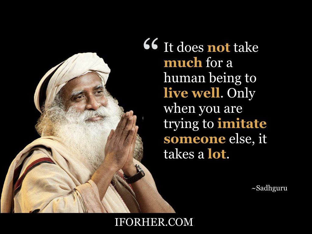 29 inspiring sadhguru quotes to help you discover peace of mind  u0026 self