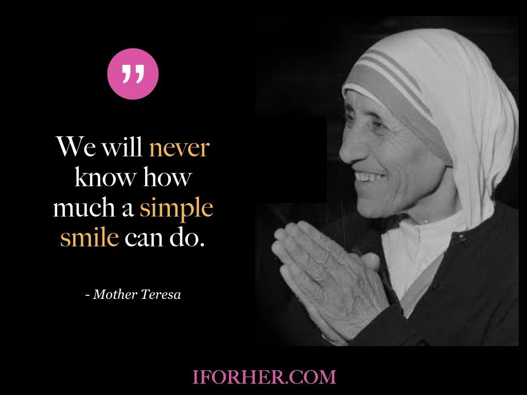 10 Mother Teresa Quotes On Happiness, Life, Peace & Courage