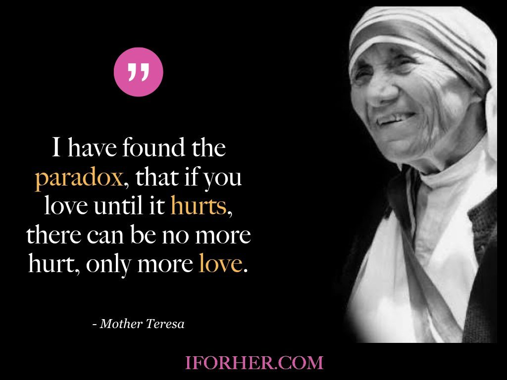 10 Inspiring Mother Teresa Quotes For A Happier & Peaceful Life