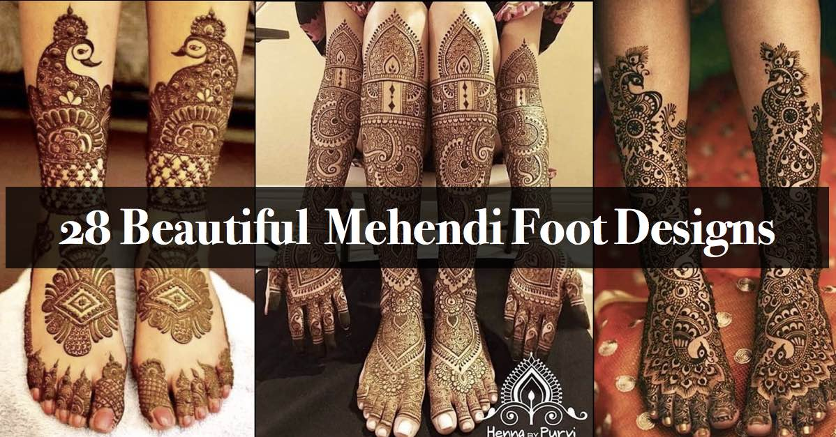 28 Best Mehendi Leg Designs For Brides That Are Simple Easy,Good Business Card Design