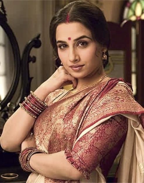 Baluchari-Saree-Types-Of-Saree-India-Vidya-Balan