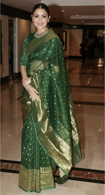 Chanderi-Saree-Types-Of-Saree-India