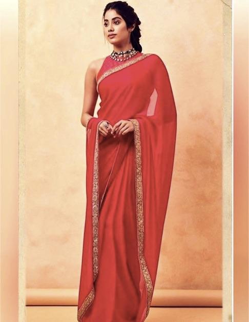 Georgette-Saree-Types-Of-Saree-India