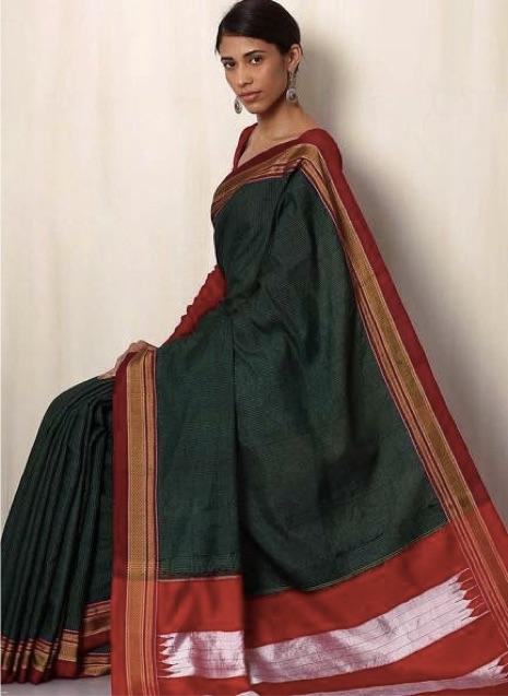 Ilkal-Types-Of-Saree-India