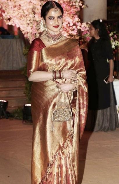 Kanjeevaram-Types-Of-Saree-India