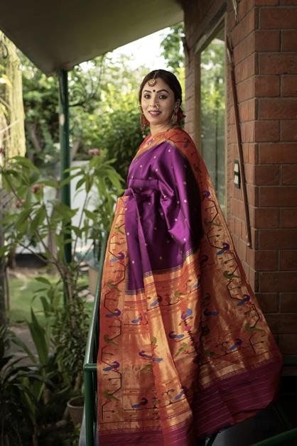 Paithani-Saree-Types-Indian-Saree