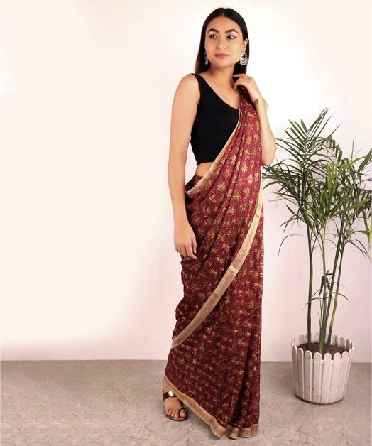 Phulkari-Saree-Types-Indian-Saree