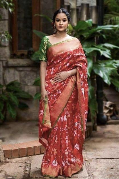 Pochampally-Saree-Types-Indian-Saree