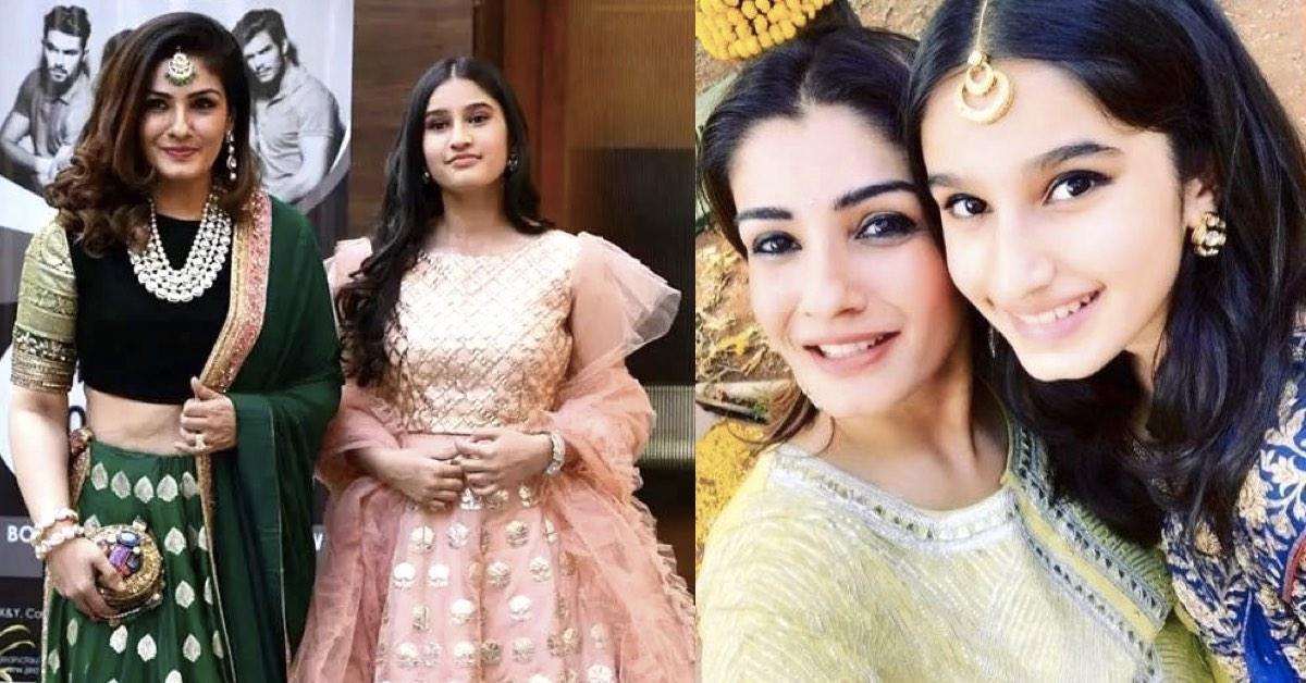 Raveena-Tandon-Rasha-Thadani