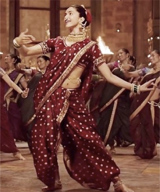 Type-Of-Indian-Saree-Nauvari-Kasta Sari