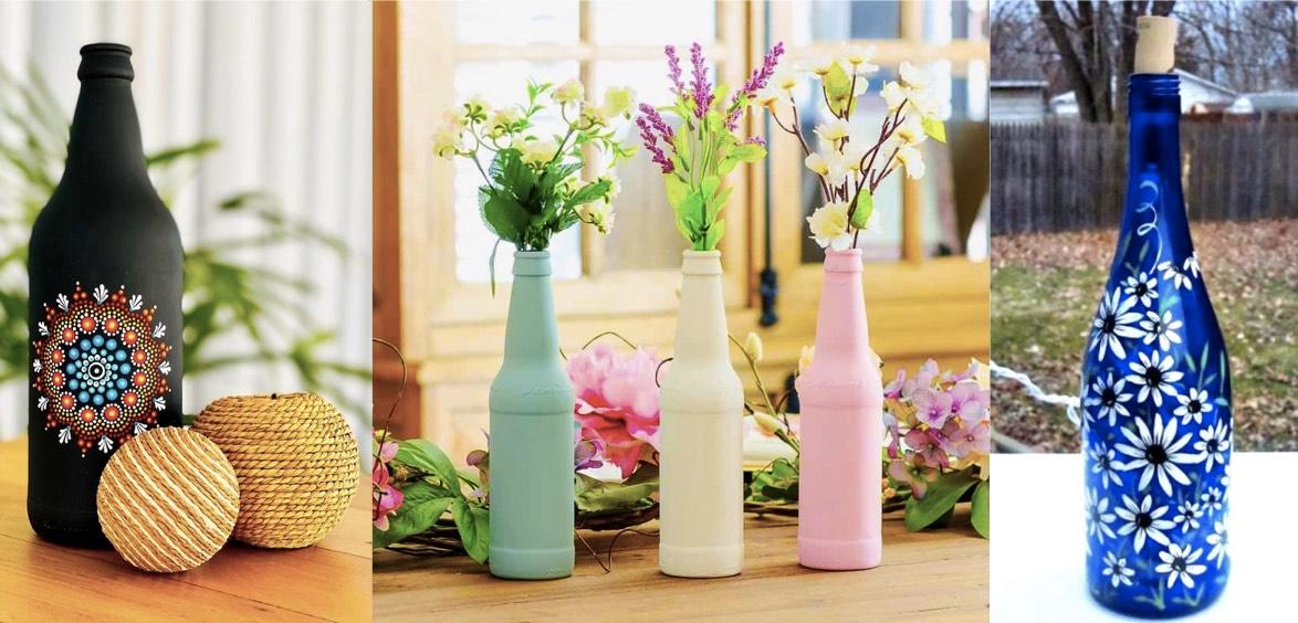 Best-Waste-Idea-Kids-Painted-Bottles