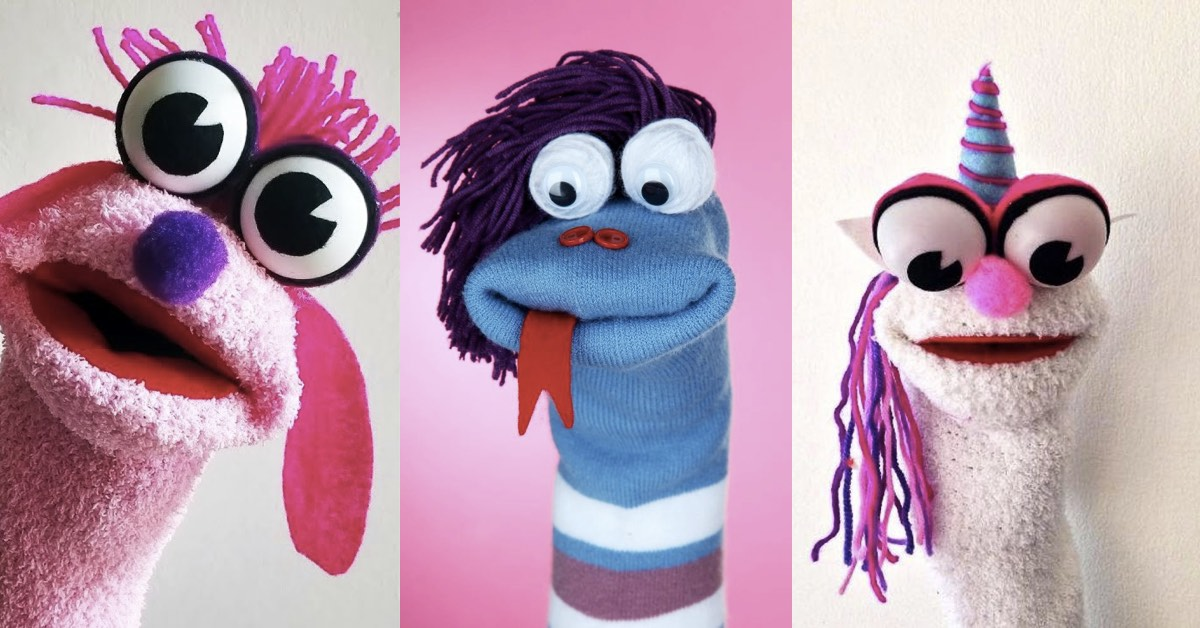 Best-Waste-Material-Sock-Puppet
