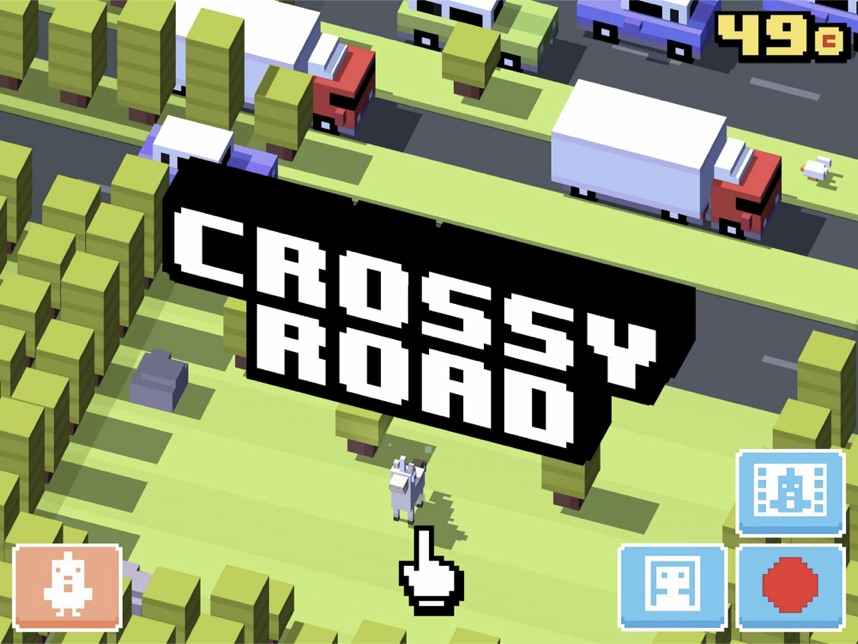 Crossy-Road-Time-Pass-Mobile-Phone-Games