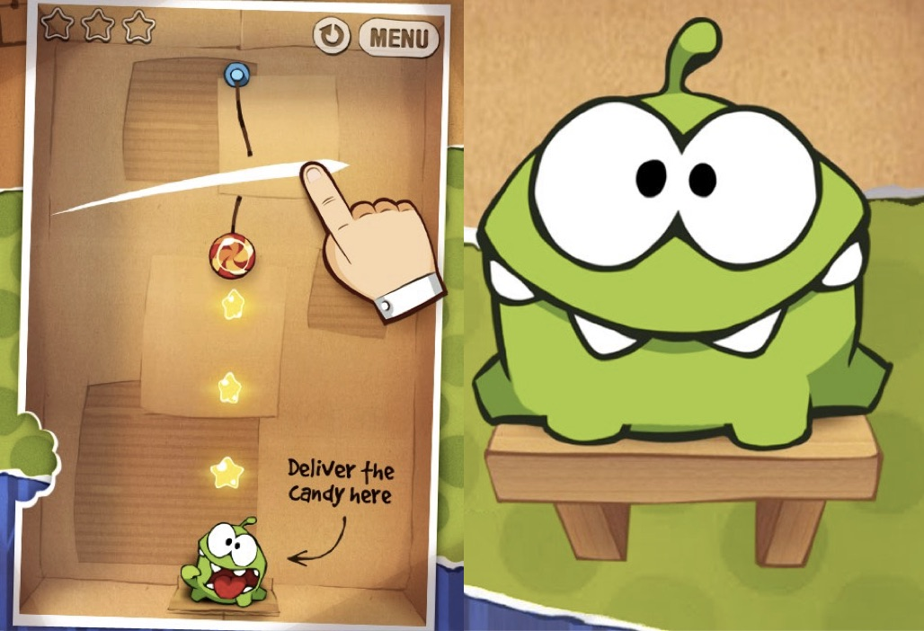 Cut-the-rope-Time-Pass-Games-Free-For-Android-Mobile-Phones