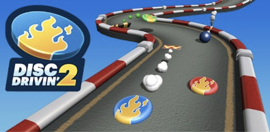 Disc-Drivin-Time-Pass-Mobile-Phone-Games