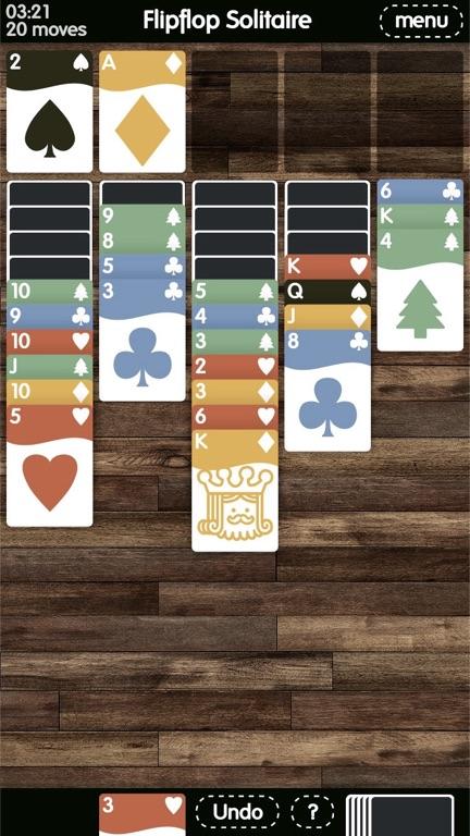 Flip-flop-solaitaire-Time-Pass-Mobile-Phone-Games