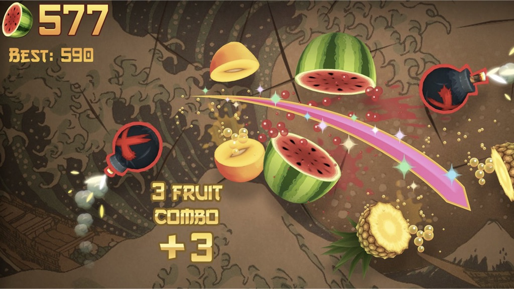 Fruit-Ninja-Time-Pass-Games-Free-For-Android-Mobile-Phones