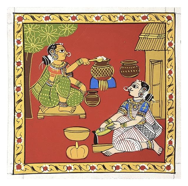 Indian-Art-Form-Cheriyal-Scroll