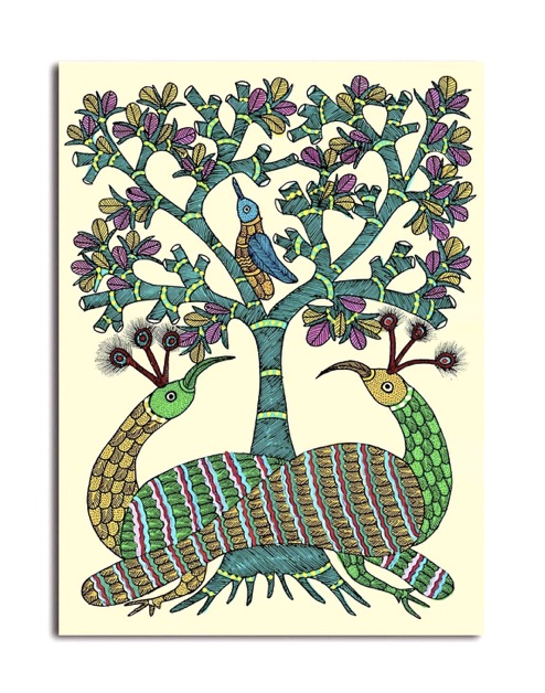 Indian-Art-Form-Gond-Painting-01