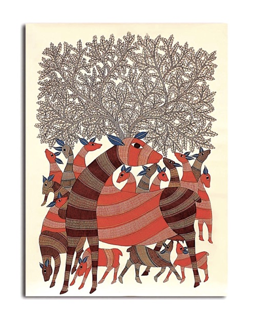 Indian-Art-Form-Gond-Painting-03
