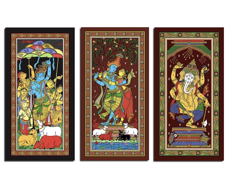 Indian-Art-Form-Pattachitra-Painting-01
