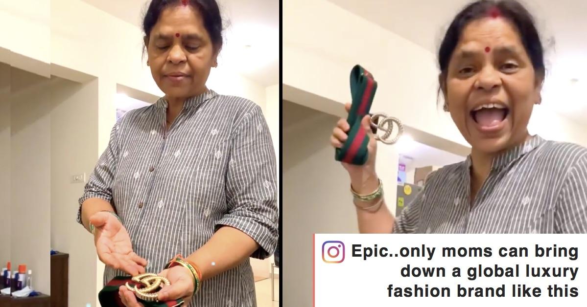 Mother-Viral-Video-gucci-belt