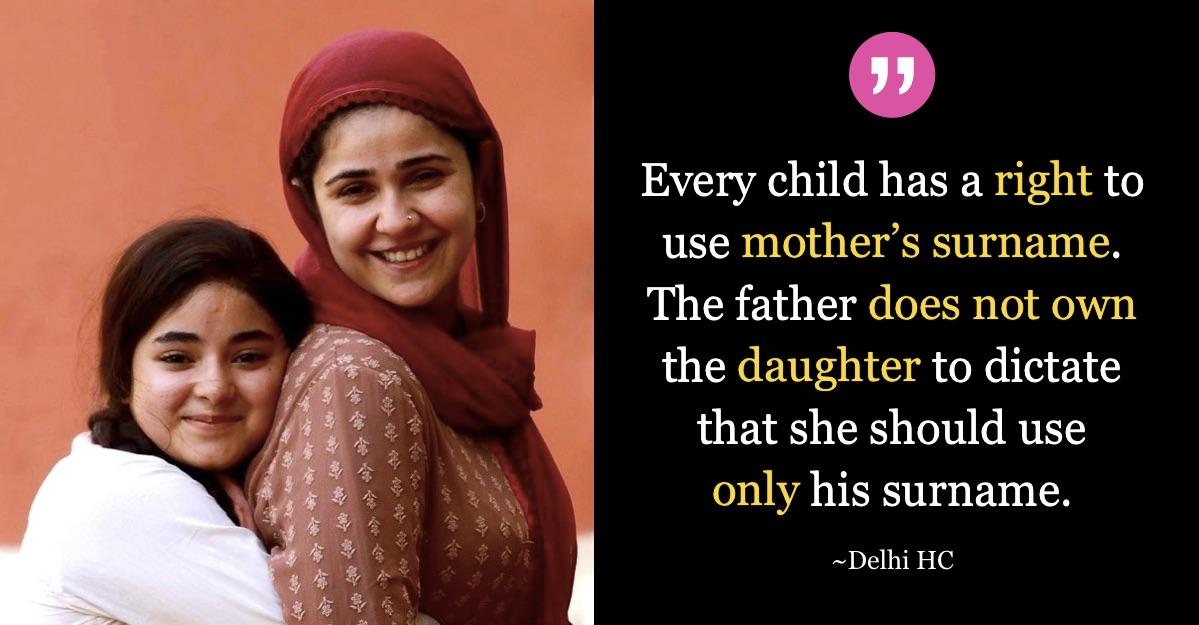 Delhi-High-Court-Decision-Surname