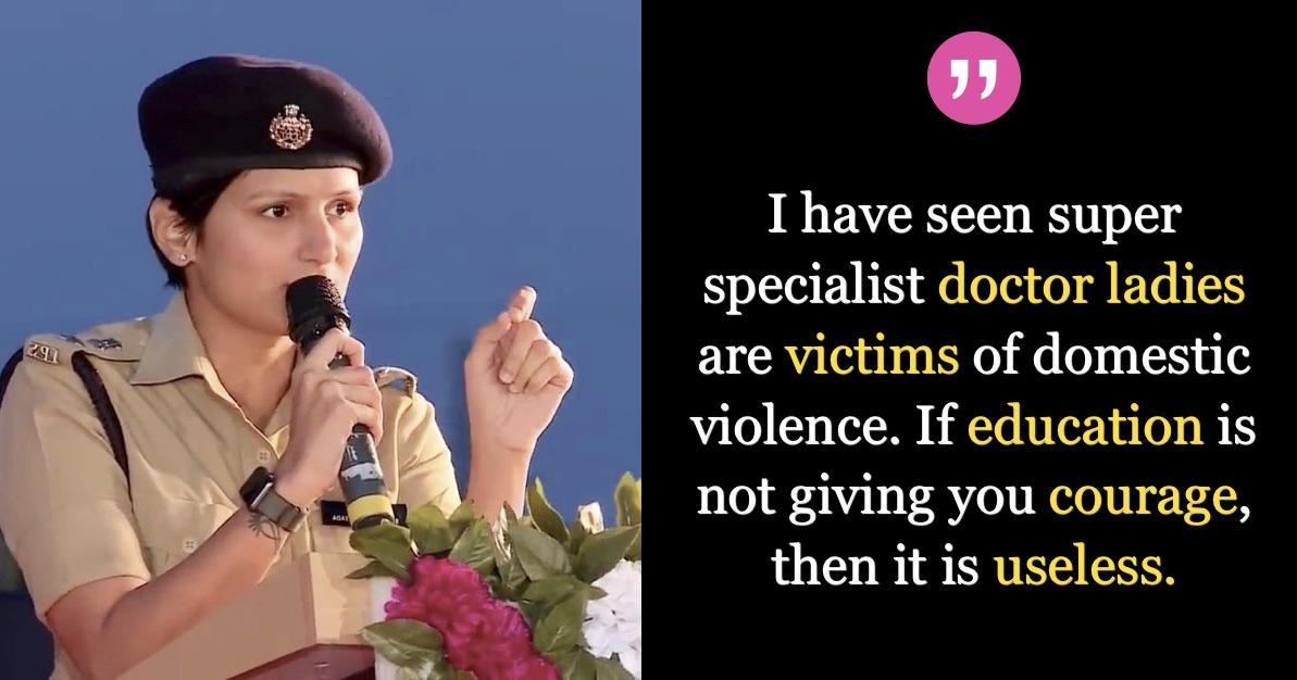 IPS-Shobha-Bhutada-Powerful-Speech-Women-Empowerment