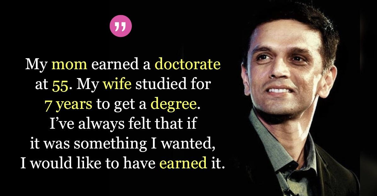Rahul-Dravid-Doctorate-Degree